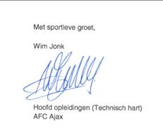 Ajax steunt initiatief Born to Play!!