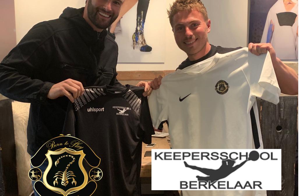 Born to Play en Keepersschool Berkelaar sluiten handen in een!!